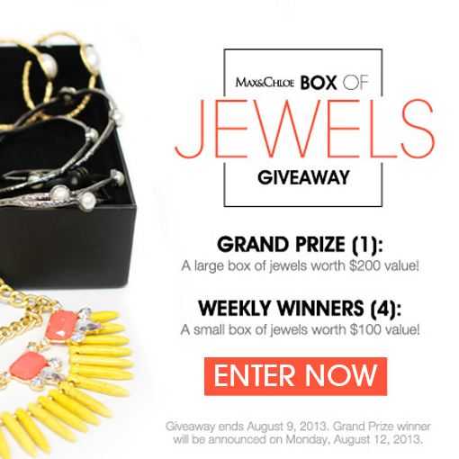 Max & Chloe's Box of Jewels Giveaway