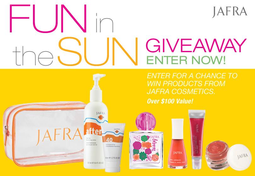 Fun in the Sun Giveaway from JAFRA Cosmetics