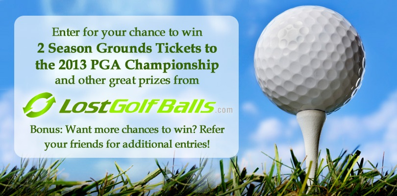 LostGolfBalls' Win Tickets to the PGA Championship
