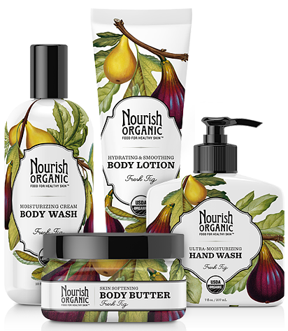 Nourish Organic Skincare Set Giveaway