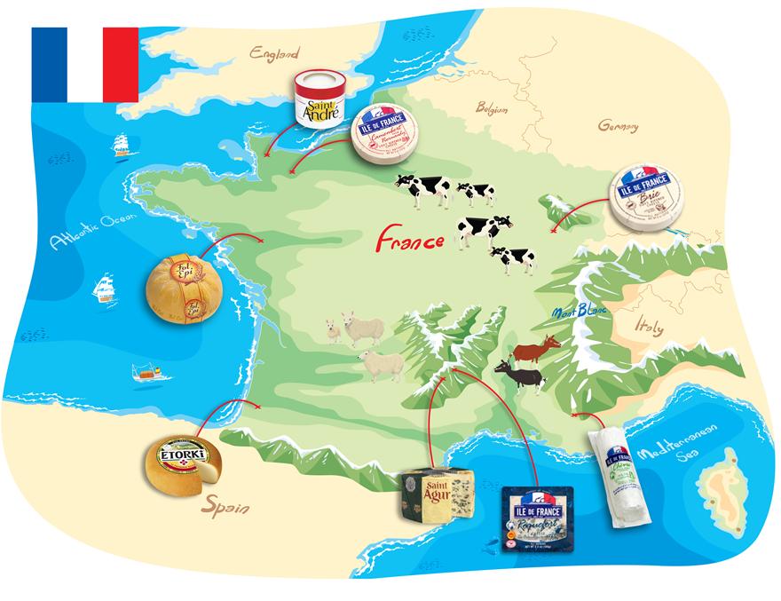 Tour de France… of Cheese!