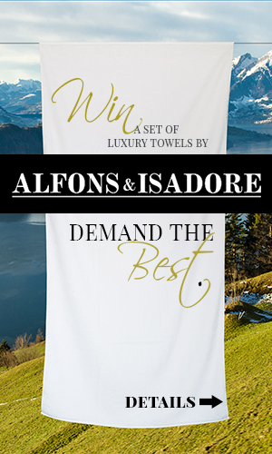 Win a set of Luxury Bath Towels from Alfons & Isadore