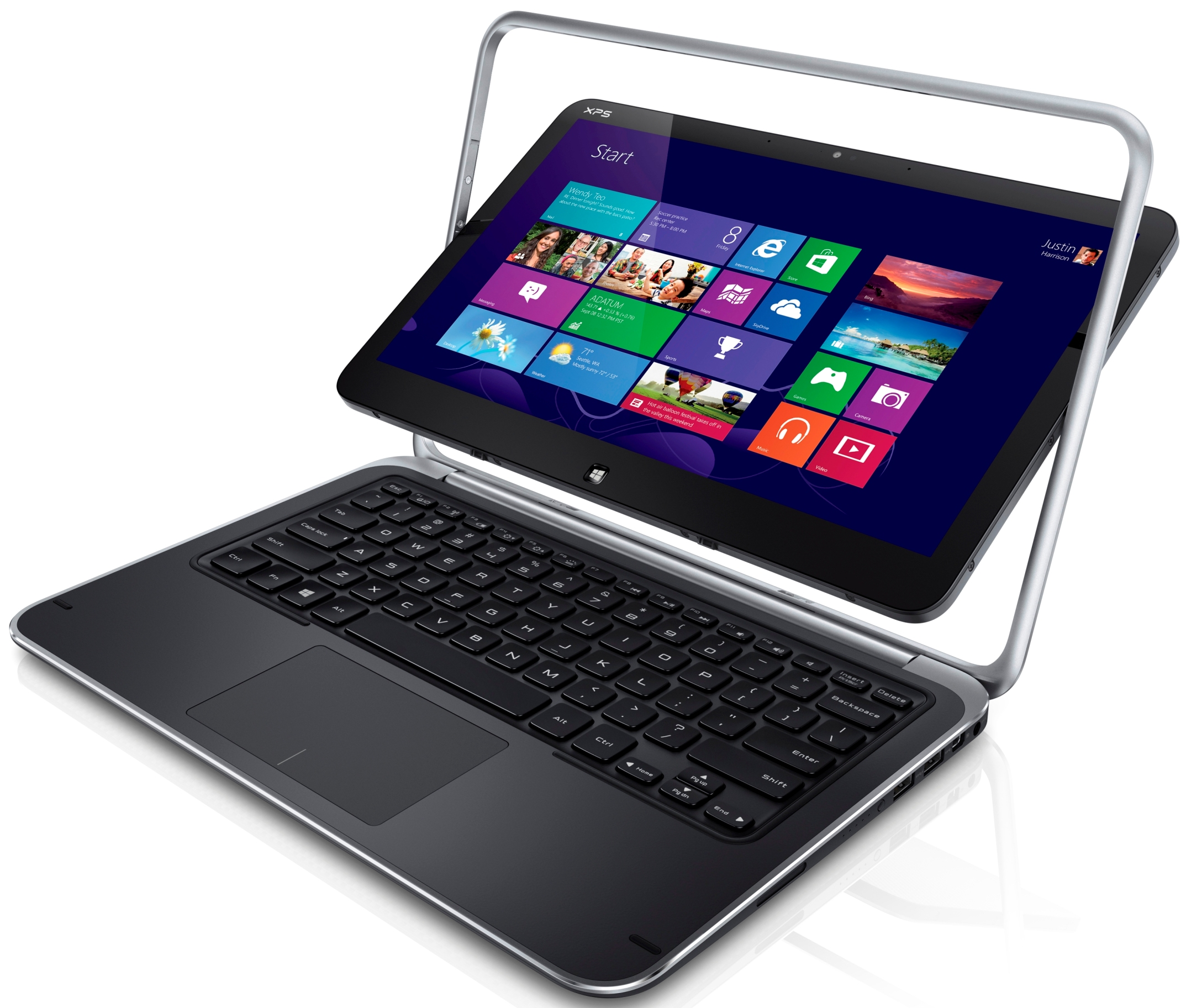 Win 1 of 3 Dell XPS 12 Ultrabook Convertibles or 1 of 15 subscriptions to McAfee LiveSafe