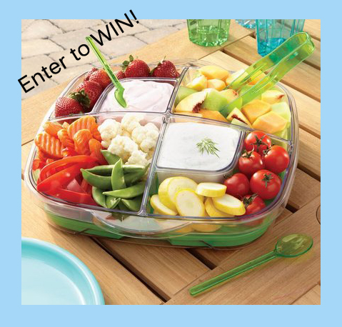 Pampered Chef Cool & Serve Tray GIVEAWAY
