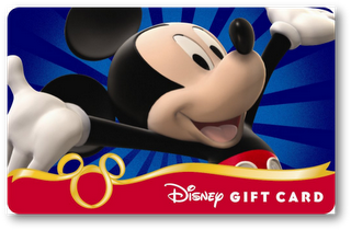 a $50 Disney Gift Card