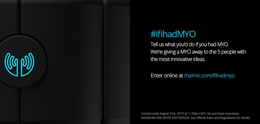 Thalmic Labs #ifihadMYO Contest