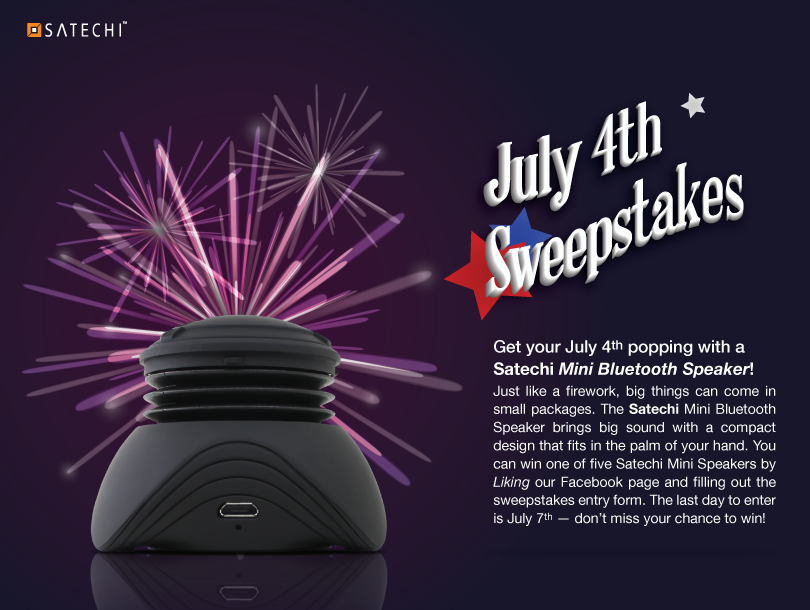 Satechi July 4th Sweepstakes