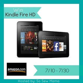 Kindle Fire HD July International Giveaway