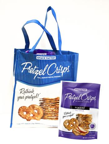 Pretzel Crisps Prize Pack!