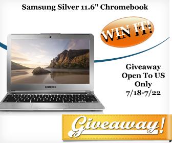 Samsung Chromebook Giveaway