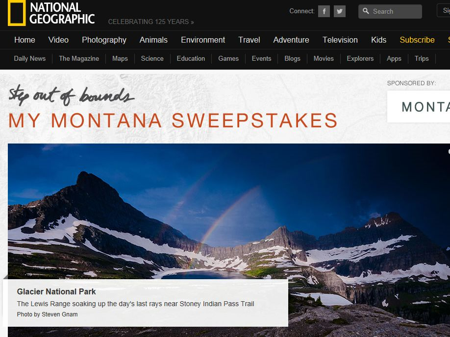 My Montana Sweepstakes: Step Out of Bounds