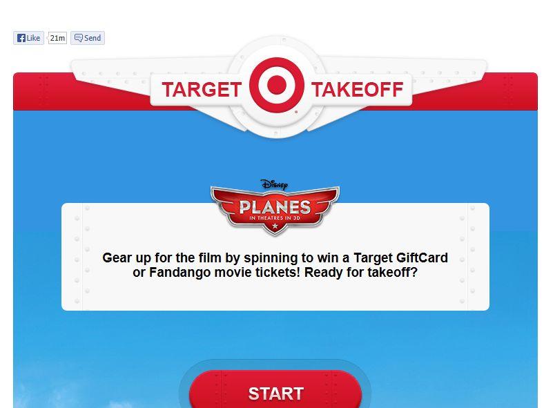 Target Disney Planes Sweepstakes