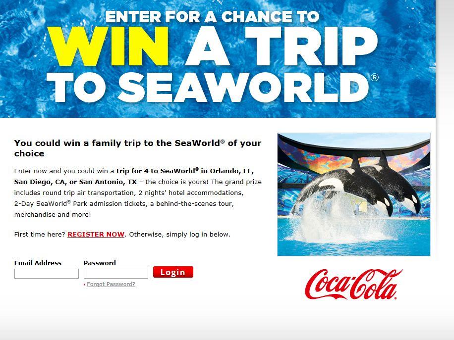 2013 SeaWorld Sweepstakes