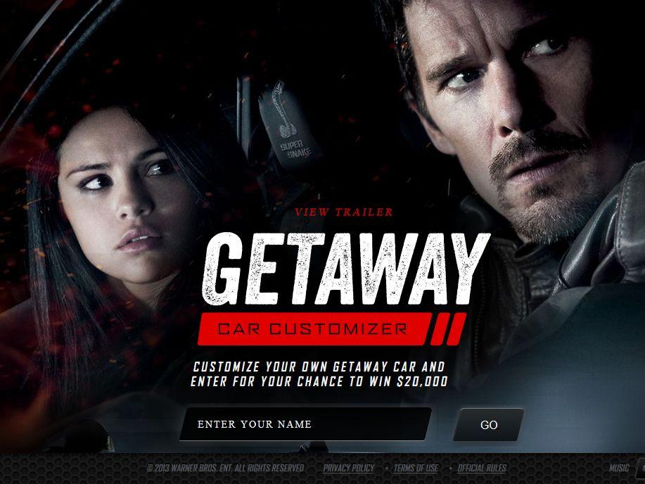 Getaway Car Customizer Sweepstakes