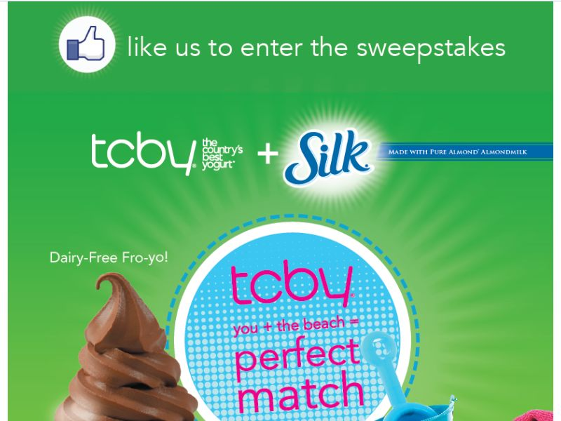 TCBY Perfect Match Sweepstakes