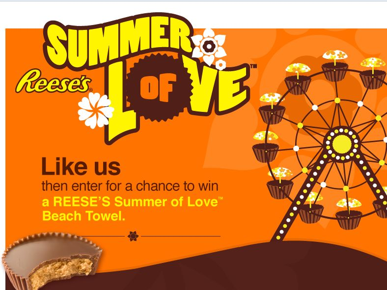 REESE'S Summer of Love Sweepstakes
