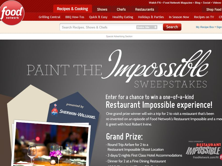 Paint the Impossible Sweepstakes