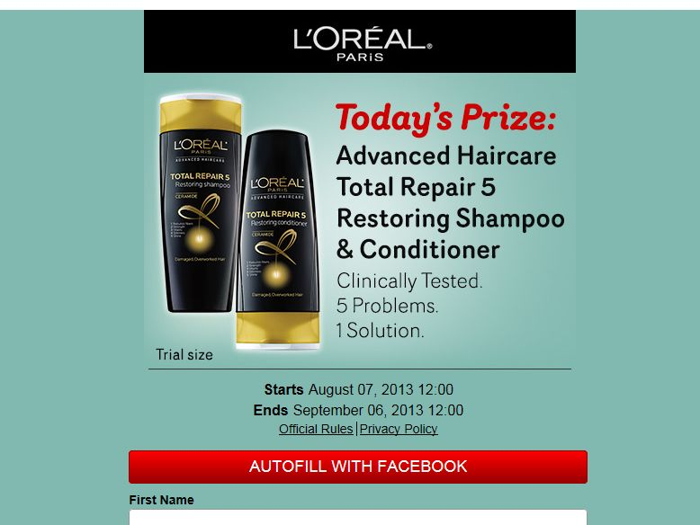 """LATINA's """"31 Days of Beauty"""" Sweepstakes"""