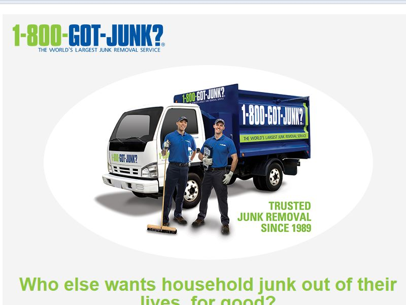 1-800-GOT-JUNK? Sweepstakes