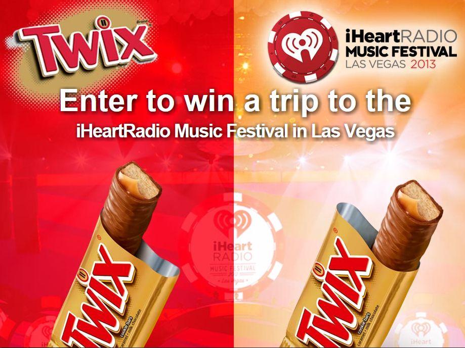 Twix's iHeartRadio Music Festival 2013 Trip Giveaway