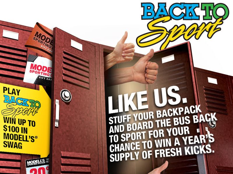 Back To Sport Instant Win Game and Sweepstakes