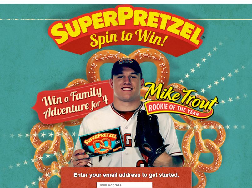 SUPERPRETZEL Spin to Win! Sweepstakes