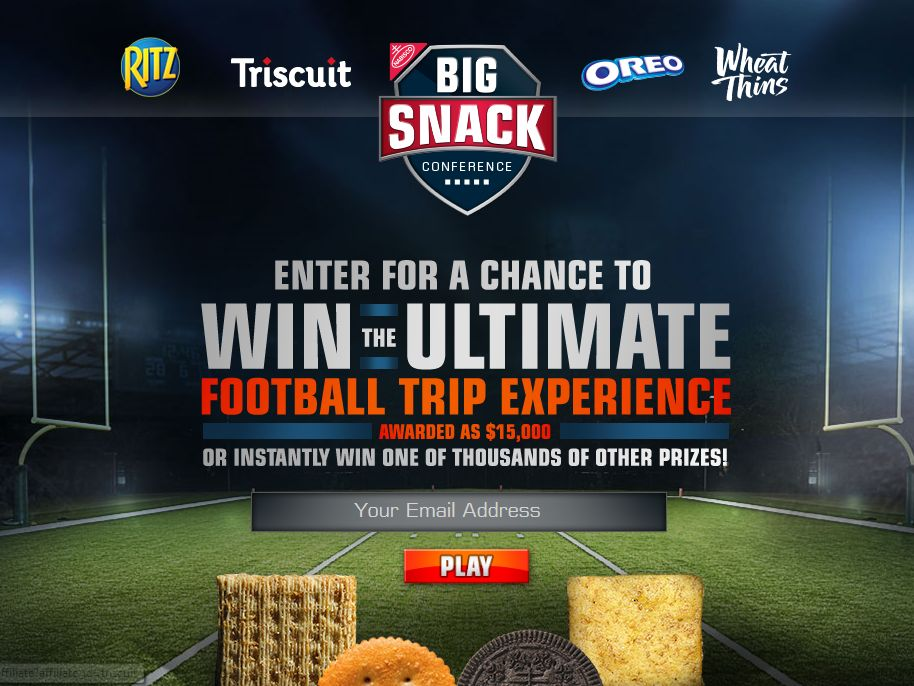 Big Snack Conference Giveaway Instant Win Game & Sweepstakes