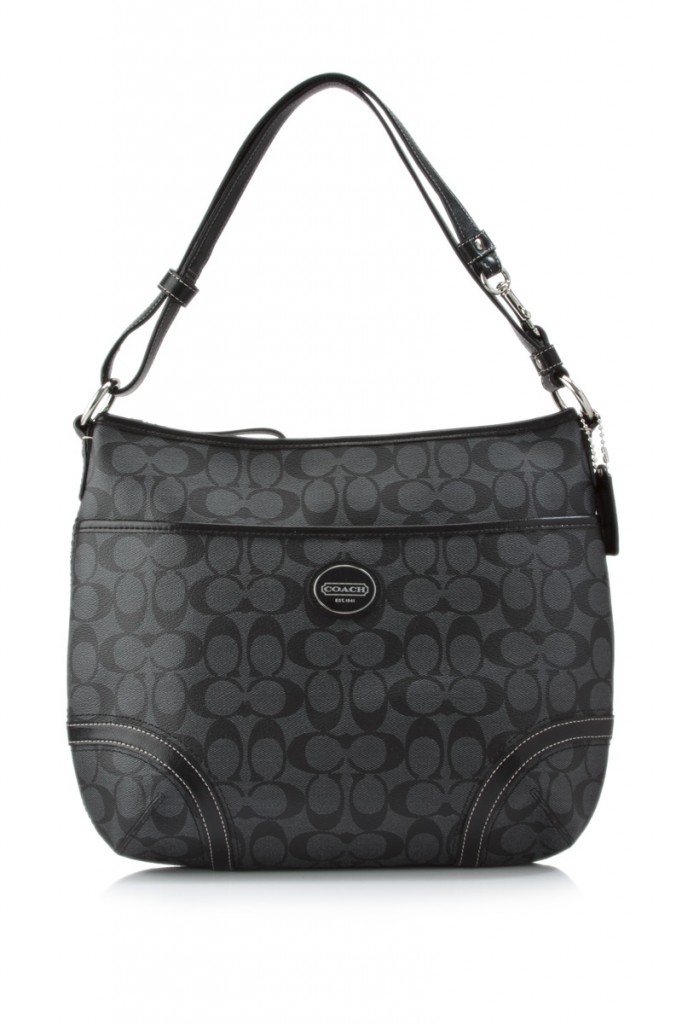 Win this Black Signature Coach Bag ($298 Value) Easy Entry