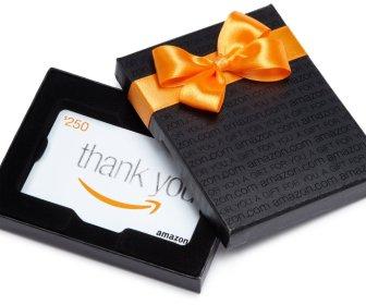 Enter to WIN $250 Amazon Gift Card