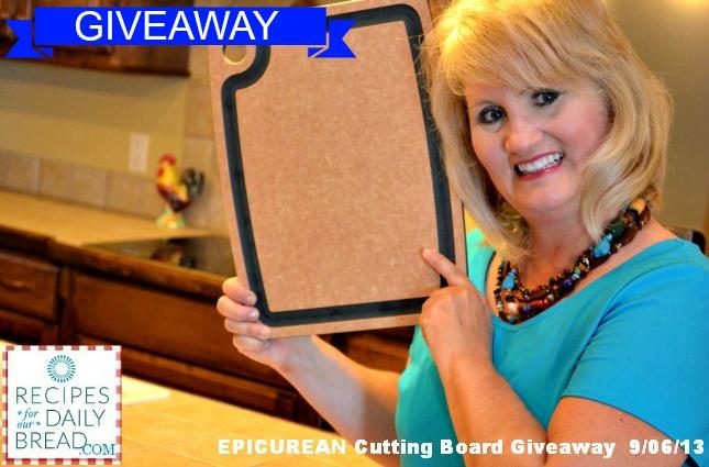 Epicurean Cutting Board Giveaway