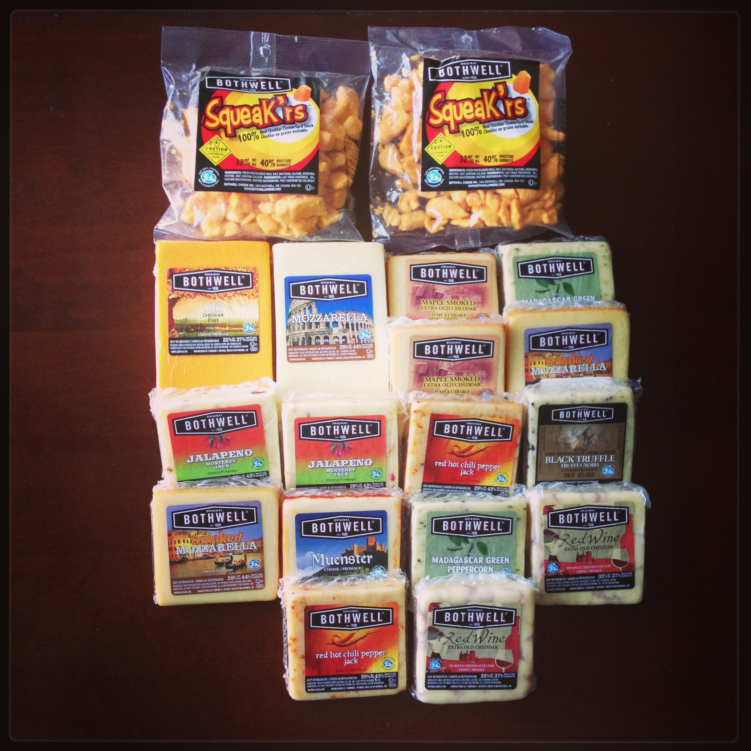Bothwell Cheese Prize Pack
