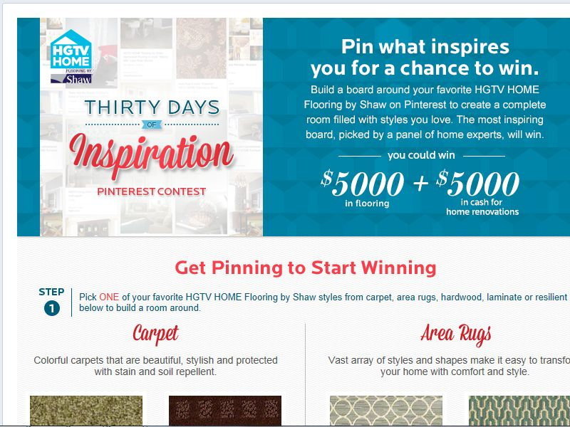 Thirty Days of Inspiration Contest