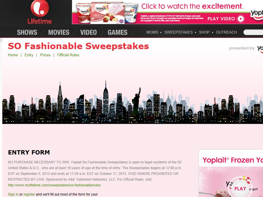 So Fashionable Sweepstakes