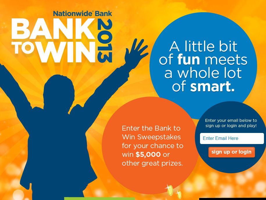 Nationwide Bank to Win Sweepstakes