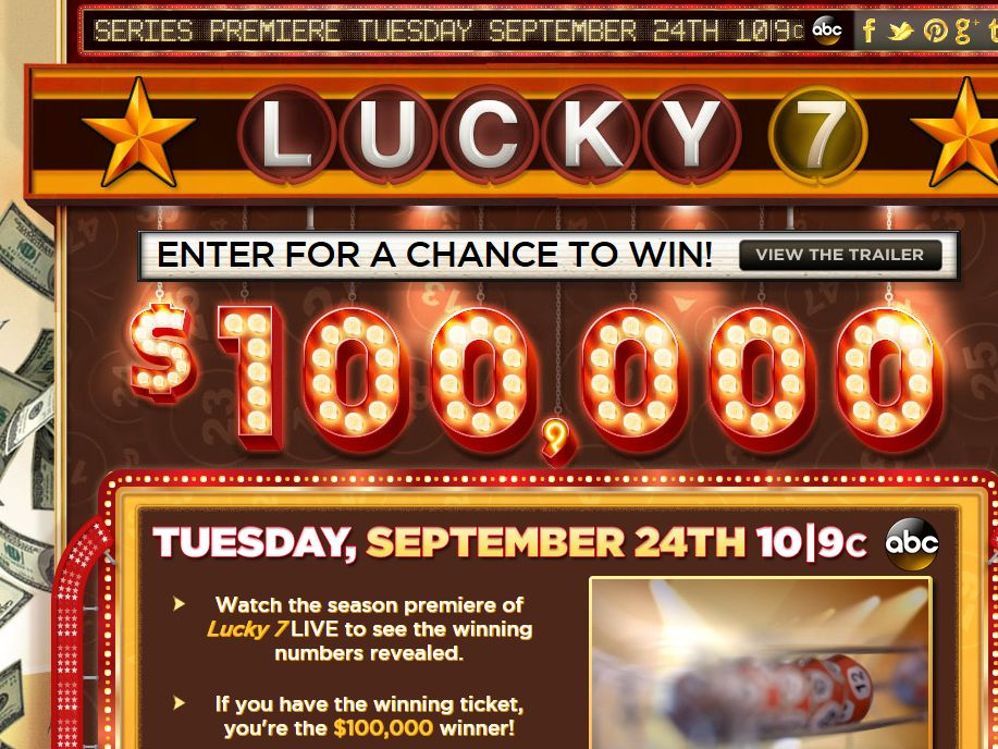 ABC's Lucky 7 Sweepstakes