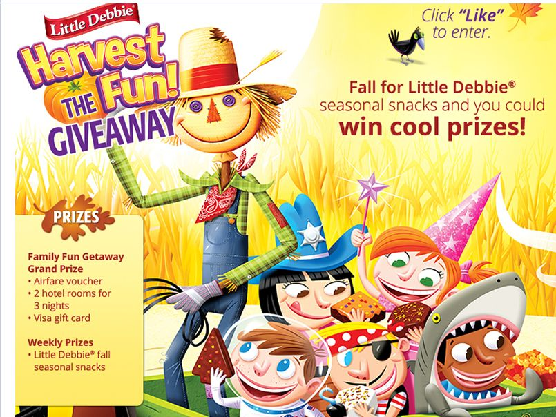 "Little Debbie ""Harvest the Fun"" Giveaway"