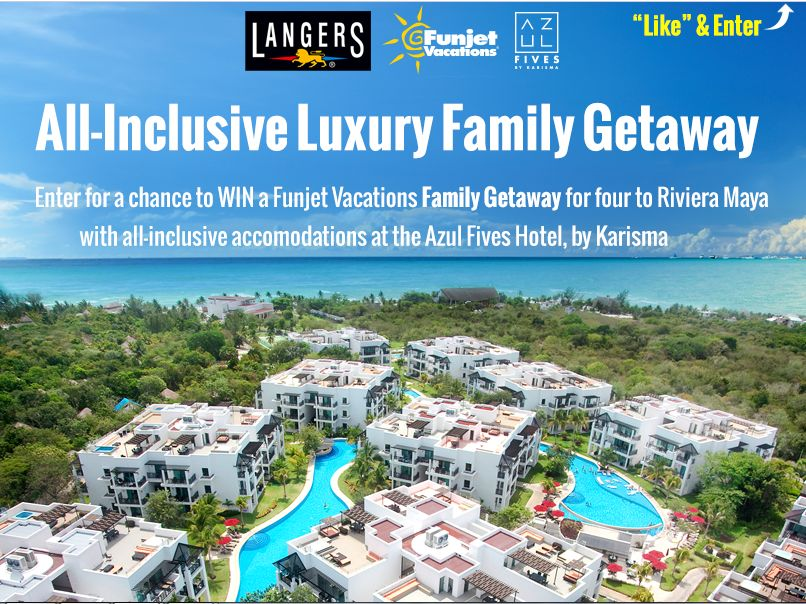 Langers Juice $5,000 Family Getaway Sweepstakes