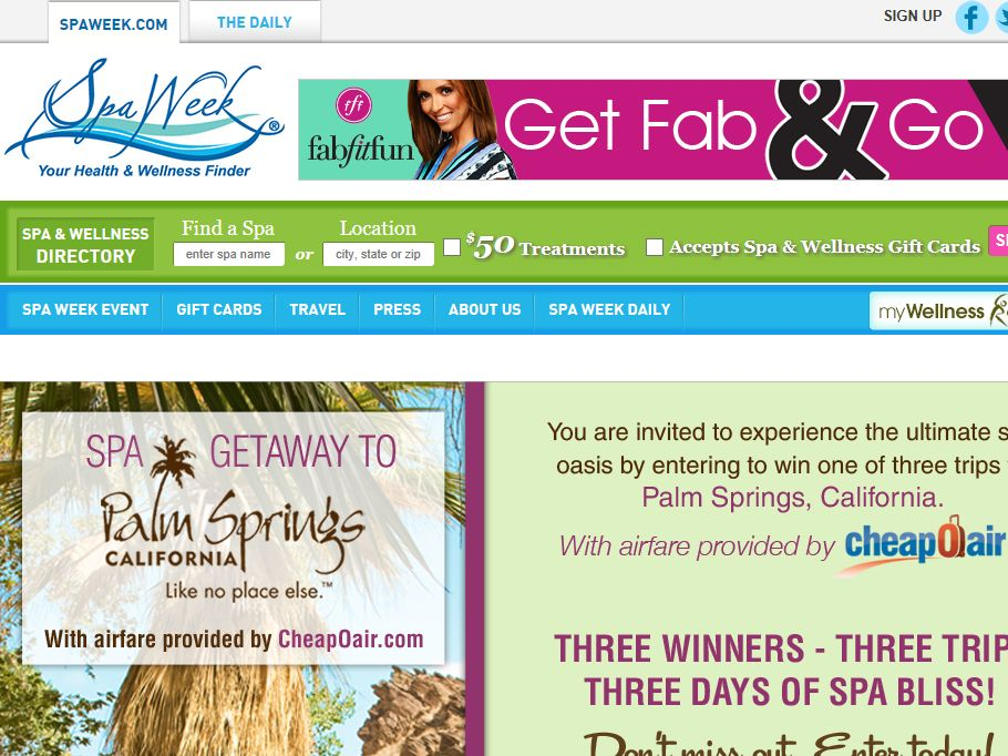 Palm Springs Spa Getaway Giveaway