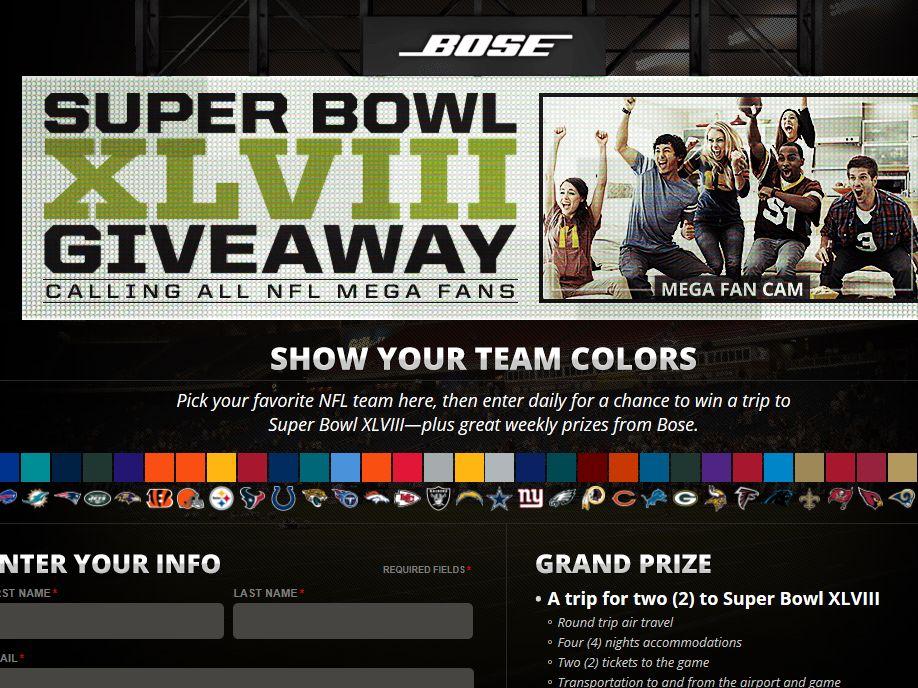 Super Bowl XLVIII Giveaway