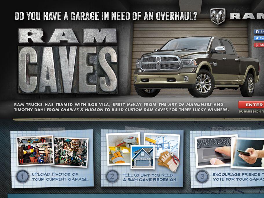 Ram Trucks Caves Contest