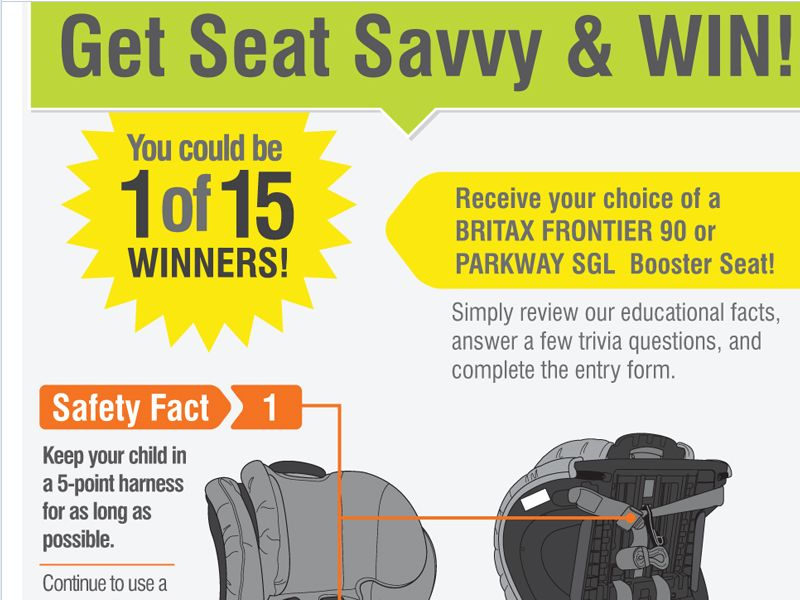 Get Seat Savvy & Win Giveaway Sweepstakes