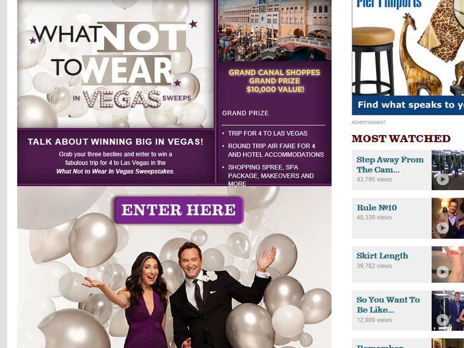 What Not to Wear in Vegas Sweepstakes