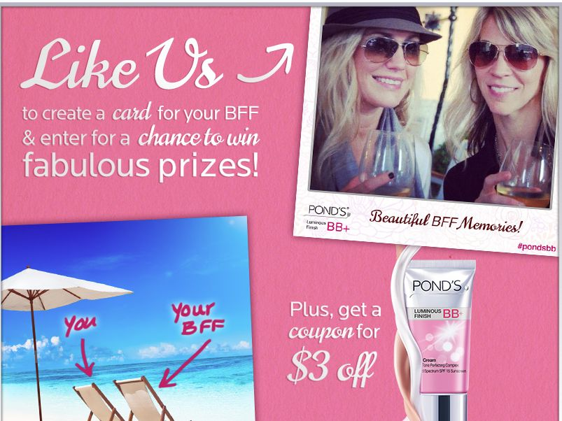 POND'S BB+ BFF Sweepstakes