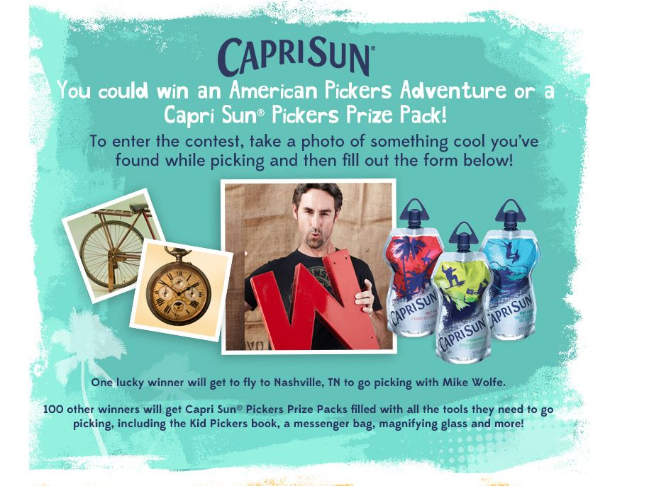 Capri-Sun Kid Pickers Contest