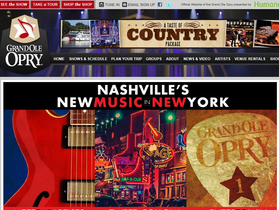 Nashville's New Music In New York Online Sweepstakes