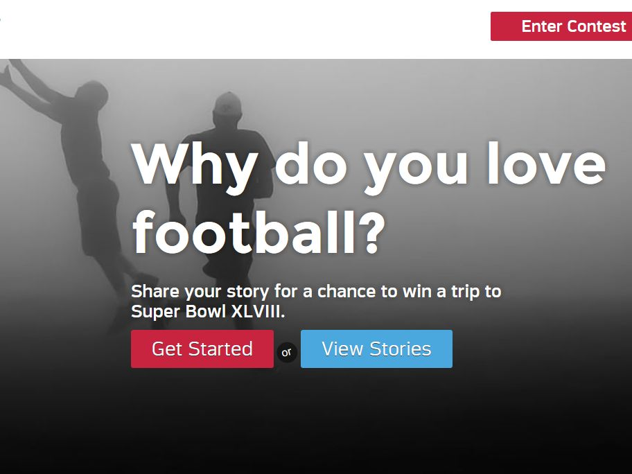 Together We Make Football – Your Story Contest