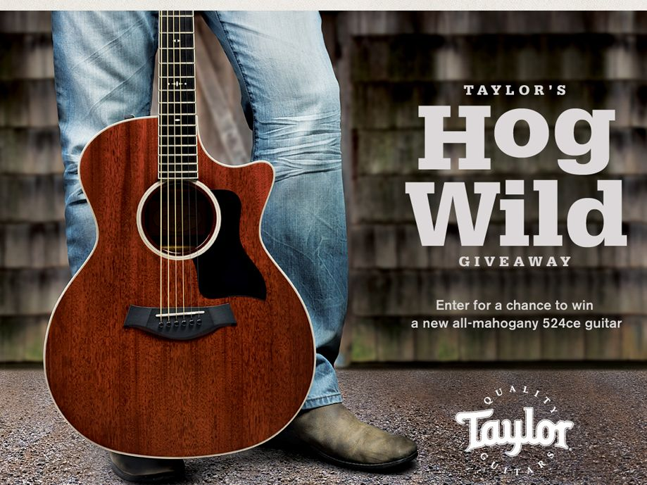 Taylor Guitars 2013 Semi-Annual Drawings Sweepstakes