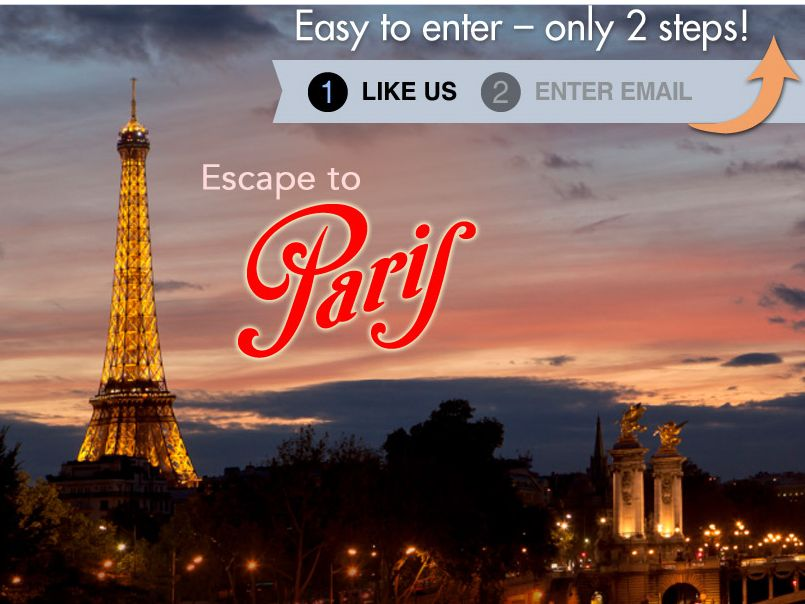 DreamPlanGo Trip of a Lifetime: Ultimate Paris Sweepstakes