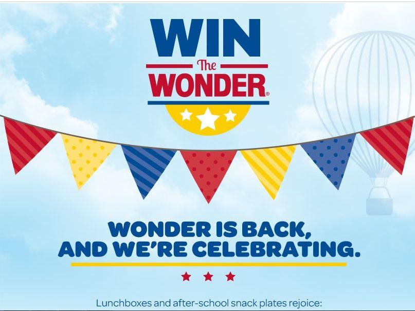 "Wonder Bread ""Win the Wonder"" Sweepstakes"