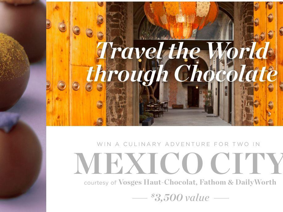 Travel the World Through Chocolate Sweepstakes